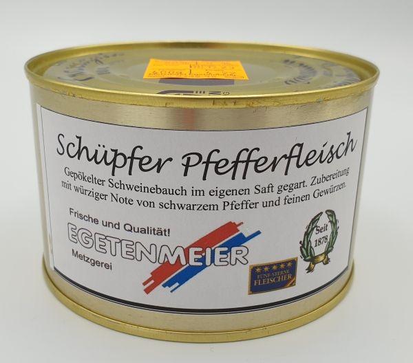 Schüpfer Pfefferfleisch 400g Dose