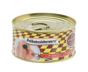 Delikatessleberwurst 125g Dose