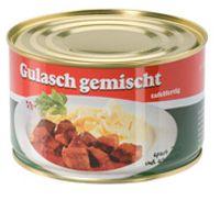 Gulasch, gemischt, tafelfertig